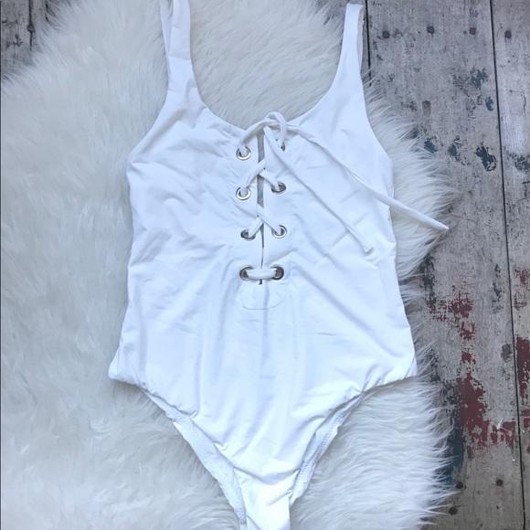 e7abb943b2a6b Zara Swim | Sale White Suit Nwt Sz Small | Poshmark